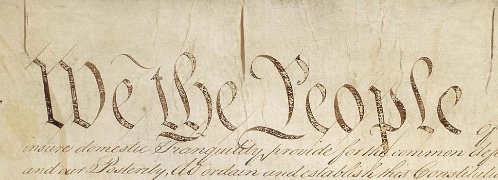 By Constitution_Pg1of4_AC.jpg: Constitutional Convention derivative work: Bluszczokrzew (Constitution_Pg1of4_AC.jpg) [Public domain], via Wikimedia Commons