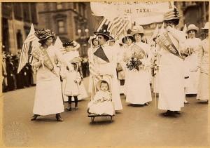 New York City, May 6, 1912. Public Domain via Wiki Media Commons.
