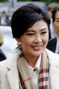 Yingluck Shinawatra. By Gerd Seidel (Rob Irgendwer) (Own work) [CC-BY-SA-3.0 (http://creativecommons.org/licenses/by-sa/3.0)], via Wikimedia Commons