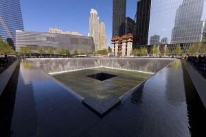 National September 11 Memorial South Pool. Photo by NormanB via Wikimedia Commons