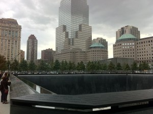 North Tower Fountain National September 11 Memorial & Museum. Photo by Kai Brinker via Wikimedia Commons