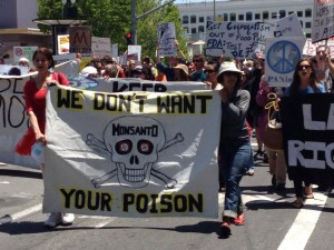 March Against Monsanto May 2014, San Francisco. Photo by Occupy Monsanto via Facebook