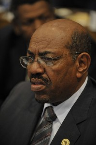 Omar al-Bashir, the president of Sudan. By U.S. Navy photo by Mass Communication Specialist 2nd Class Jesse B. Awalt/Released) [Public domain], via Wikimedia Commons