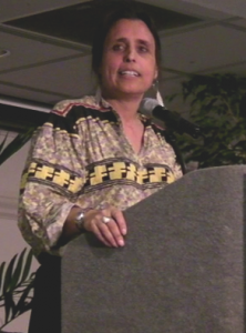 Winona laDuke (Honor the Earth). By Eclectek (Own work) [GFDL (http://www.gnu.org/copyleft/fdl.html) or CC-BY-3.0 (http://creativecommons.org/licenses/by/3.0)], via Wikimedia Commons