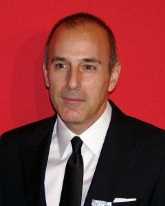 Matt Lauer. Photo by David Shankbone (Own work) [CC-BY-3.0 (http://creativecommons.org/licenses/by/3.0)], via Wikimedia Commons