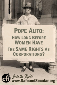 Women corp rights