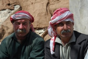 Yazidi men. Photo By Bestoun94 (Own work) [CC-BY-SA-3.0 (http://creativecommons.org/licenses/by-sa/3.0)], via Wikimedia Commons