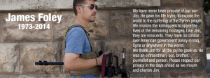 Journalist James Foley was beheaded by Islamic State on August 20, 2014. Photo via FaceBook.