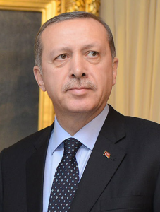 Recep Tayyip Erdoğan, President of Turkey. Photo via Wikimedia Commons
