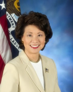 Elaine Chao. Photo via Wikimedia Commons