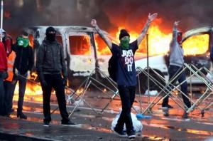 Brussels- November 6, 2014. Photo by Revolution News via Facebook