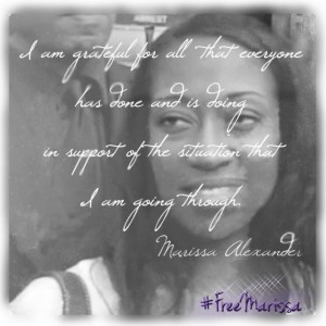 "Photo courtesy ""Support for Marissa Alexander"" via Facebook"
