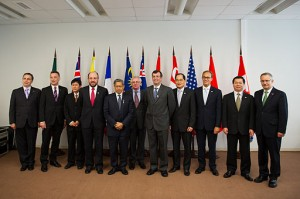Trade Ministers from TPP meeting in Vladivostok. Photo by East Asia and Pacific Media Hub U.S. Department of State [Public domain], via Wikimedia Commons