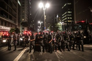 São Paulo protests. Photo by Media NINJA