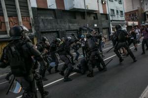 São Paulo protests. Photo by Media NINJA