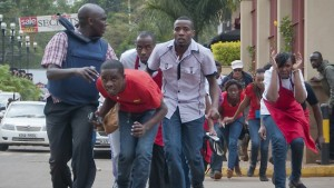 People fleeing Westgate Mall. Photo: blog.people.com