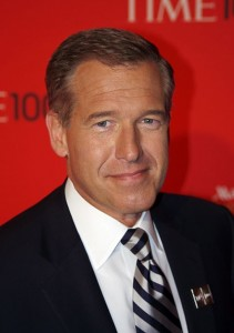 Brian Williams. Photo by David Shankbone (Own work) [CC BY 3.0], via Wikimedia Commons