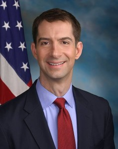 Senator Tom Cotton. Photo via Wikimedia Commons