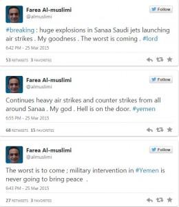 Yemen tweets 1