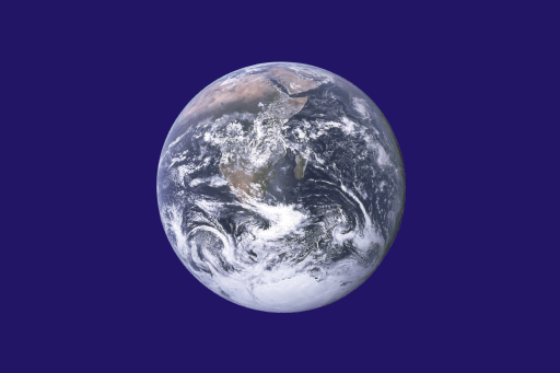 Earth Day flag. By John McConnell (flag designer) NASA (Earth photograph) SiBr4 (flag image) [Public domain or Public domain], via Wikimedia Commons