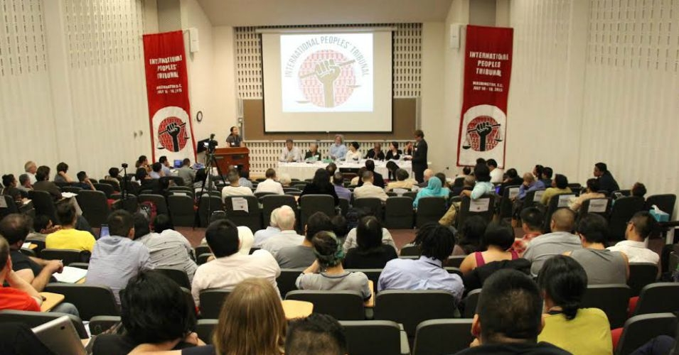 The International People's Tribunal of the Philippine and United States government kicked off Thursday in Washington, D.C.. (Photo courtesy of the International Coalition for Human Rights in the Philippines)