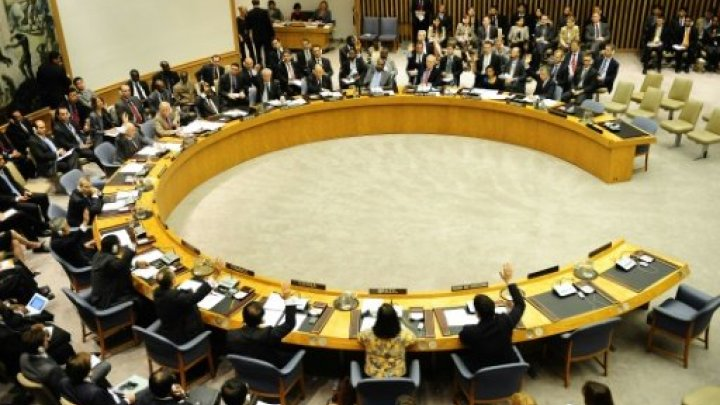 United Nations Security Council. Photo via Twitter
