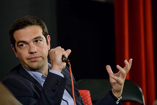 Alexis Tsipras at the Subversive Festival in Zagreb, 2013. Photo by Robert Crc (Subversive festival media) [FAL], via Wikimedia Commons