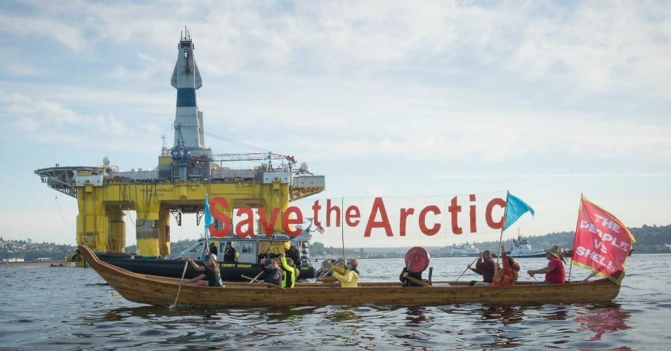 Alaska's Chukchi Sea, where the Obama administration has said Shell can drill for oil, is among the millions of acres of public land and ocean already leased to the fossil fuel industry. (Photo: Backbone Campaign/flickr/cc)