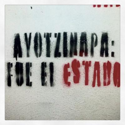 """Ayotzinapa was the state"". Flickr. Some rights reserved."