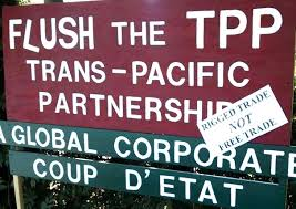 "Digital rights groups warn that TPP ""will criminalize our online activities, censor the Web, and cost everyday users money."" (Image via Occupy.com)"
