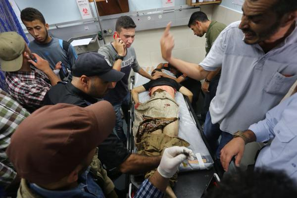 This 13 year old boy is one of six killed by Israeli forces in Gaza on October 9. Photo via Twitter