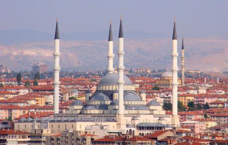 Kocatepe mosque, Ankara. Wikimedia/Bjorn Christian Torrensen. Creative Commons.