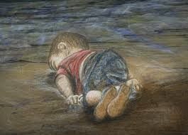 Aylan Kurdi, whose image of his tiny 3-year-old body shocked the world when it washed up on the shores of the Aegean Sea in late August. He was a Syrian Refugee. Image via Facebook.