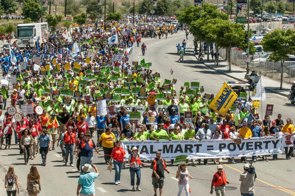 Image via Worldwide OURWalmart Strike Facebook page.
