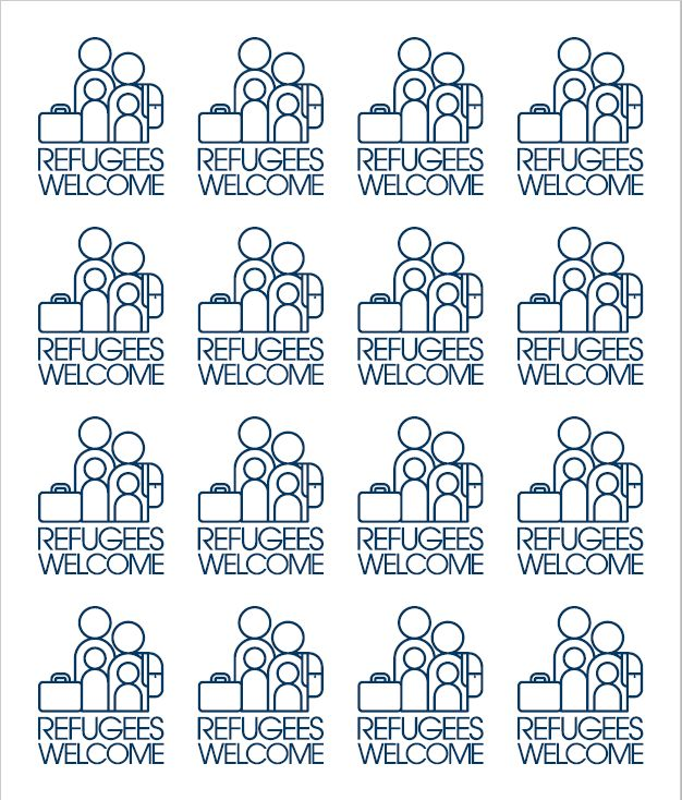 RefugeesWelcome-stickers