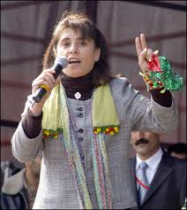 Leyla Zana. Image via flickr.