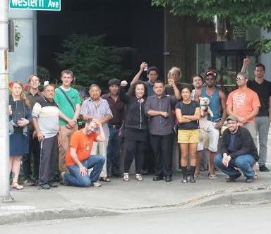 SeaSol members after victory over Greystar. Photo: SeaSol