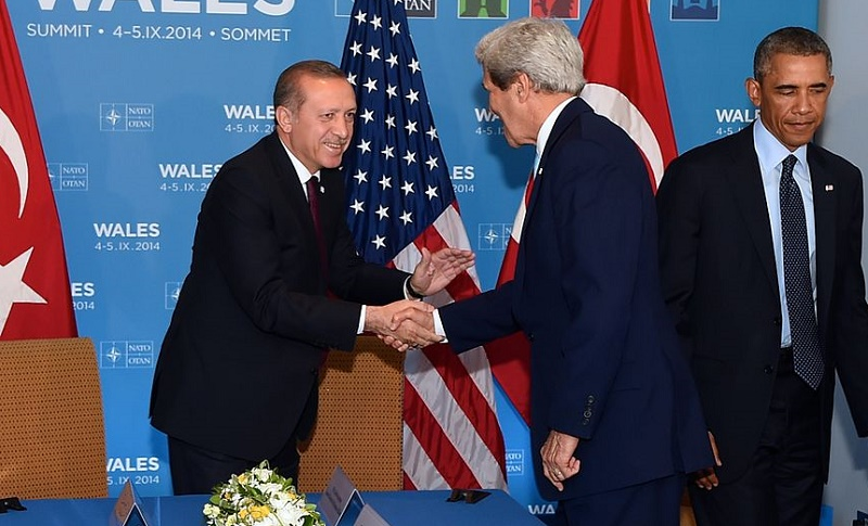 The Obama Administration hanging out with Erdogan.