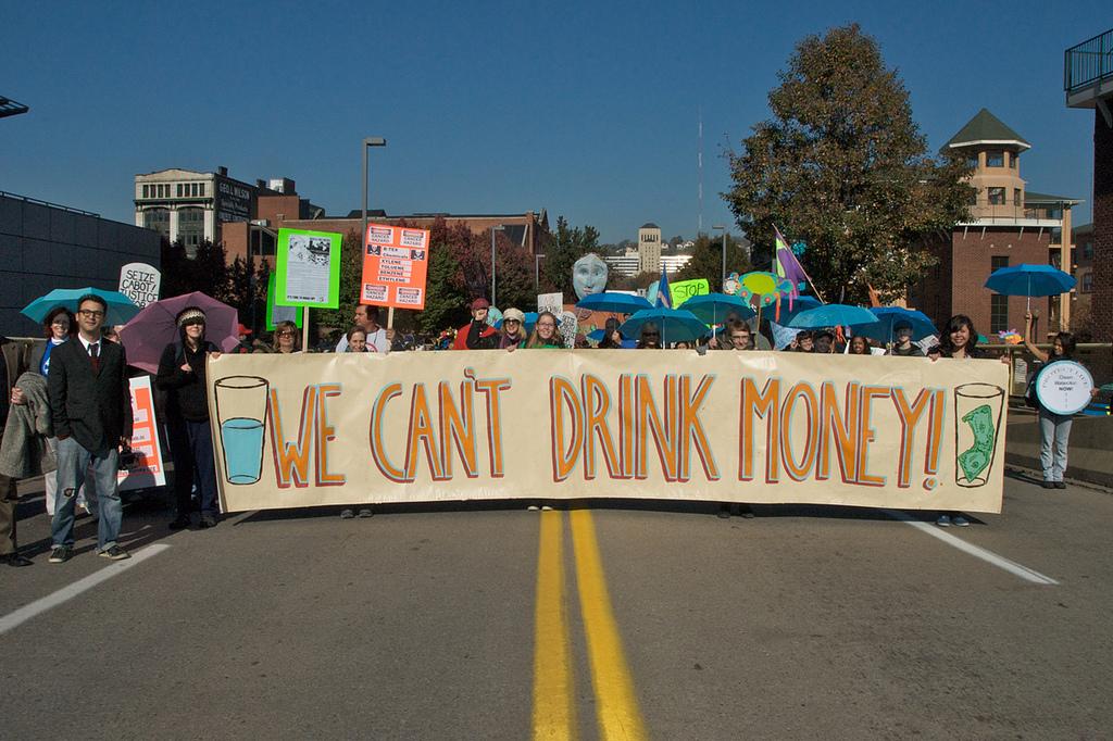 Photo: Marcellus Protest