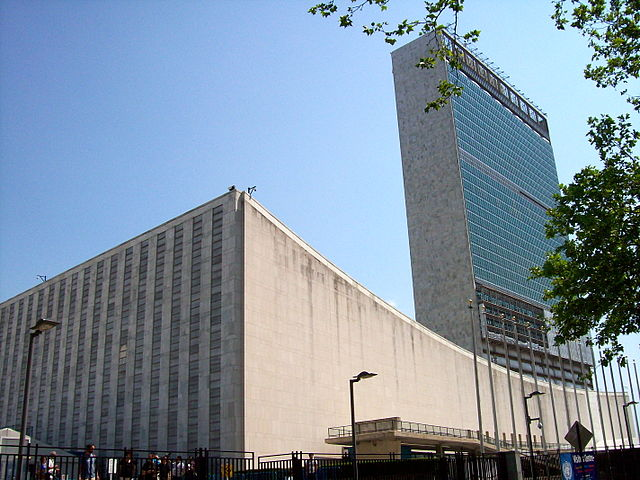 The UN Secretariat Building, home to the Legal Committee. Photo: geoffreyq [CC by 3.0] via wikimedia commons