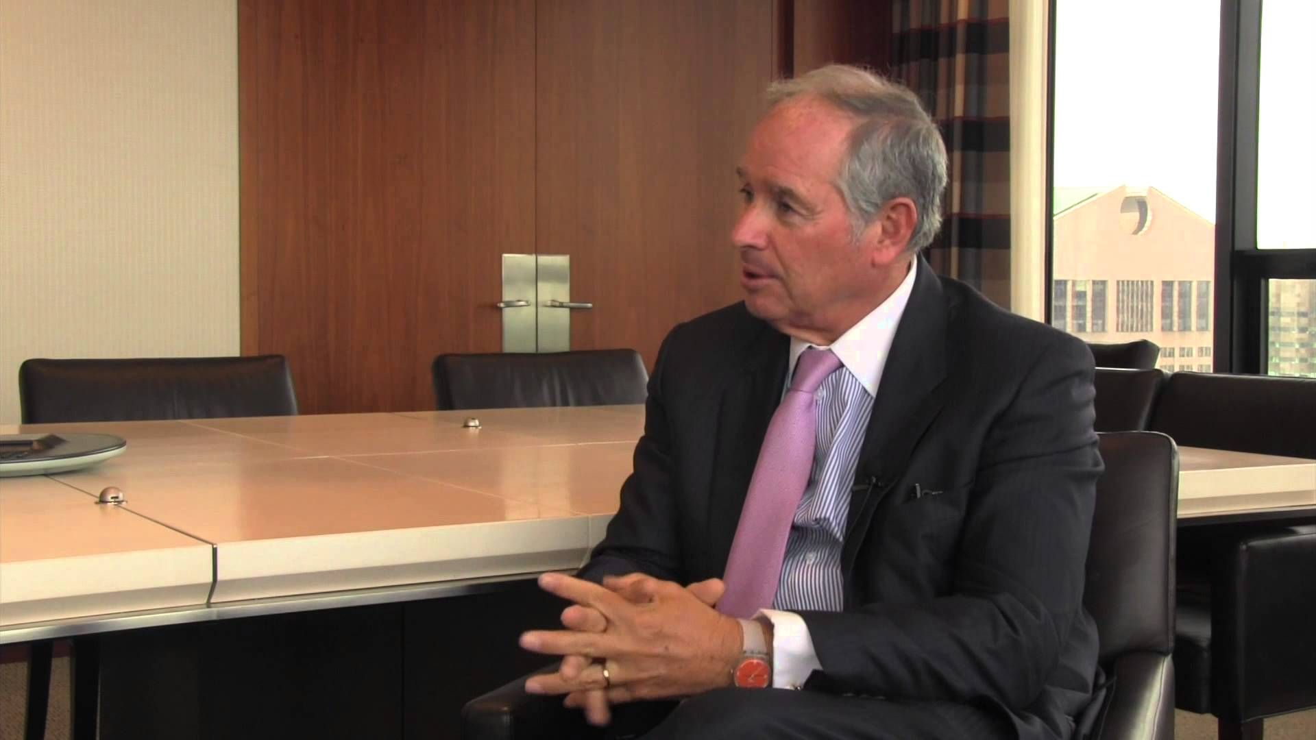 Stephen Schwarzman. Photo: YouTube