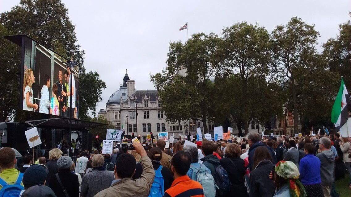 Photo: Refugee Action/Twitter
