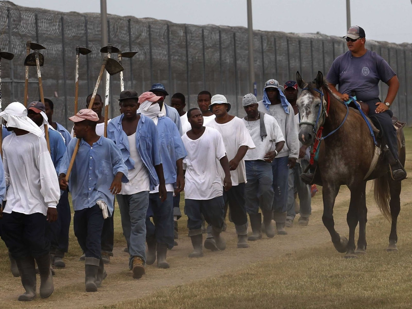 Angola Prison, Louisiana. Photo: Refractory