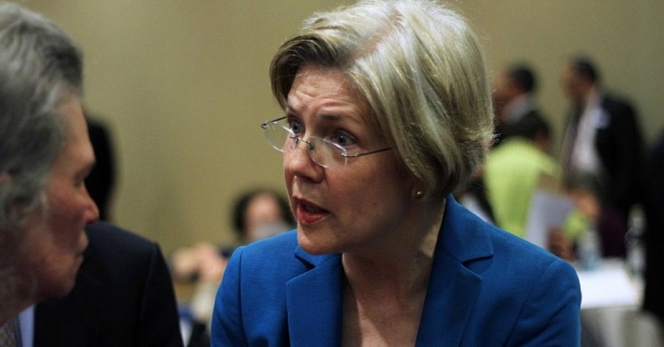 """Instead of adding insult to injury,"" Warren wrote, the Department of Education ""should stand up for these students as it promised to do for more than a year and immediately halt all collections on these debt."" (Photo: Mystery Pill/cc/flickr)"