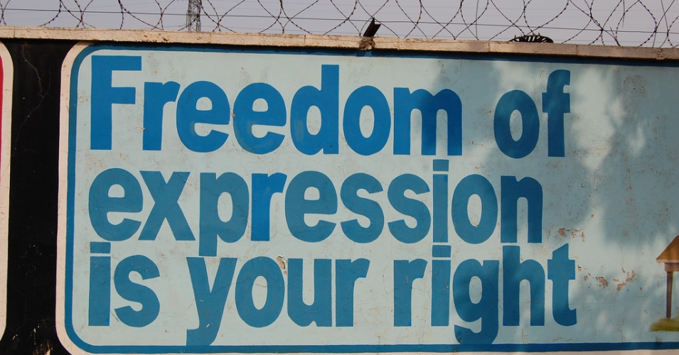 """Censorship in all its forms reflects official fear of ideas and information,"" said U.N. Special Rapporteur on the freedom of opinion and expression, David Kaye. (Photo: Rachel Hinman/flickr/cc)"