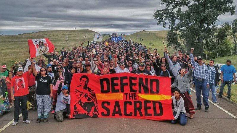 Photo: Standing Rock Occupation/Facebook
