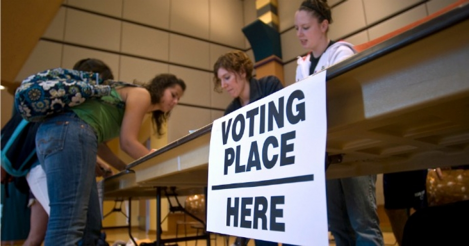 On Tuesday, the U.S. Department of Justice will send out 280 fewer election monitors than it did during the 2012 presidential election. (Photo: Penn State/flickr/cc)